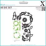 Docrafts - Xcut - A5 Die Set - Daisy Chain Frame