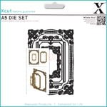 Docrafts Xcut Ornate Frames Square A5 Die Set