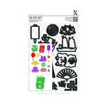Docrafts - Xcut - A5 Die Set - Chinese New Year