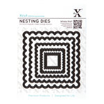 DoCrafts - Xcut - Nesting Dies - Scalloped Square