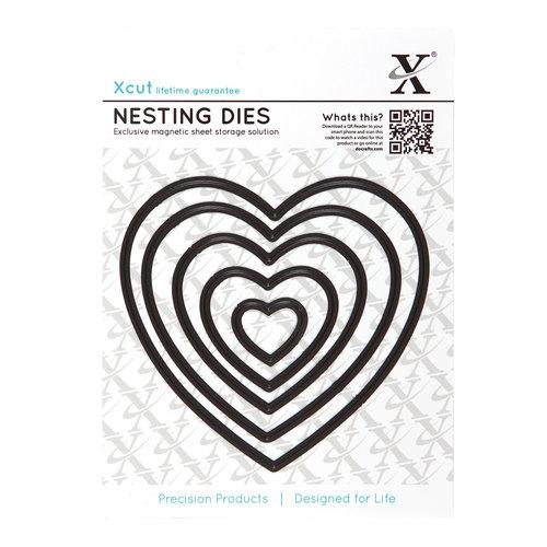DoCrafts - Xcut - Nesting Dies - Heart