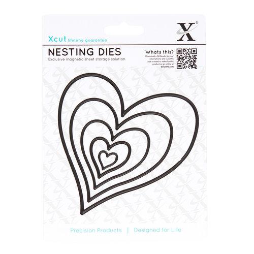 DoCrafts - Xcut - Nesting Dies - Homespun Heart