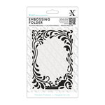 DoCrafts - Xcut Universal A6 Embossing Folder - Floral Curls