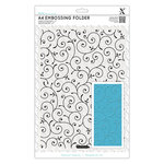 DoCrafts - Xcut Universal A4 Embossing Folder - Delicate Flourishes
