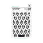 Docrafts - Xcut - A6 Embossing Folder - Damask Pattern