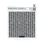 Docrafts - Xcut - 6 x 6 Embossing Folder - Herringbone Pattern