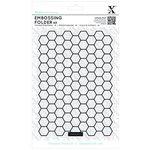 Docrafts - Xcut - A5 Embossing Folder - Honeycomb