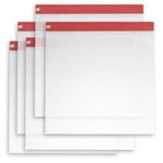 Bag of Bags - Zipafile Bags - Red - Set of 5