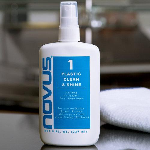 Novus Polish Inc - Novus 1 - Plastic Clean and Shine - 8 Ounces