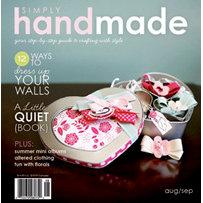 Simply Handmade Magazine - August September 2009