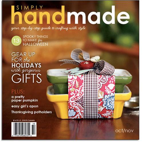Simply Handmade Magazine - Holiday Handmade, CLEARANCE