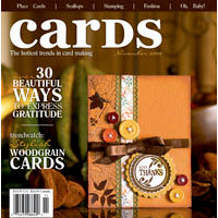 Cards Magazine - The Hottest Trends in Card Making - November 2009, BRAND NEW