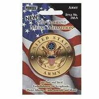 Pioneer - Self Adhesive Metal Medallion - Army