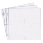 Pioneer - 12 x 12 Album Refill Pages - Holds Four 4 x 6 Inch Photo Pockets Per Page - 10 Pack