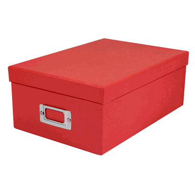 Pioneer - Photo Video Box - Bright Red