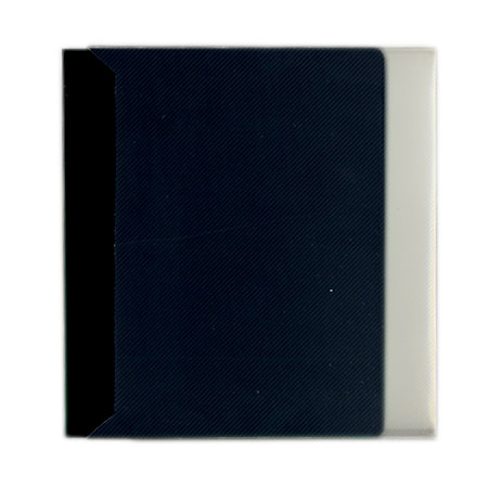 Pioneer - Space Saver - 2-Up Poly Photo Album - 72 Slip-In Pockets - Black