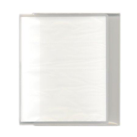 Pioneer - Space Saver - 2-Up Poly Photo Album - 72 Slip-In Pockets - White