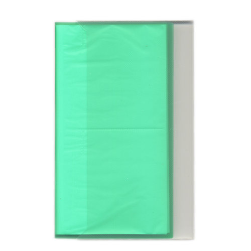 Pioneer - Space Saver - 3-Up Poly Photo Album - 144 Slip-In Pockets - Green