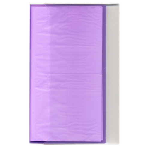 Pioneer - Space Saver - 3-Up Poly Photo Album - 144 Slip-In Pockets - Purple