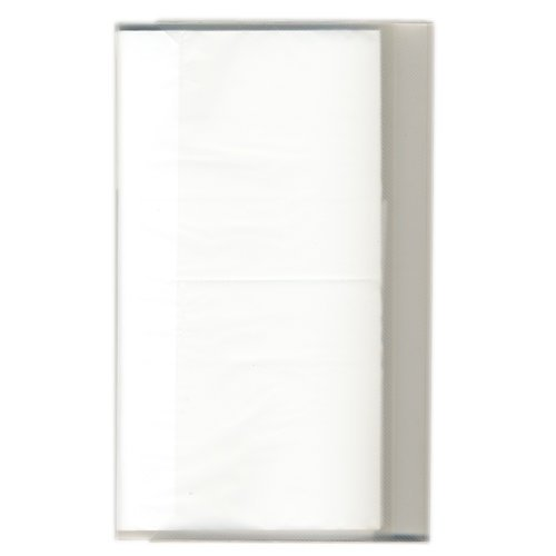 Pioneer - Space Saver - 3-Up Poly Photo Album - 144 Slip-In Pockets - White