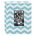 Pioneer - Fabric Chevron 100 Pocket Photo Album - Aqua