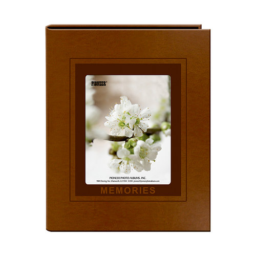 Pioneer - 1 Up Album - 36 4 x 6 Inch Photo Pockets - Brown