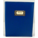 Pioneer - Carde Sewn Photo Album - 208 4x6 Inch Photo Pockets - Bright Blue - 2 Up Album