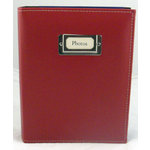 Pioneer - Carde Sewn Photo Album - 208 4x6 Inch Photo Pockets - Red - 2 Up Album