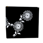 Pioneer - 2 Up Album - 200 4x6 Inch Photo Pockets - Embroidered Fabric Cover - Black