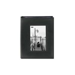 Pioneer - 2 Up Album - 200 4x6 Photo Pockets - Embossed Leatherette Frame - Black