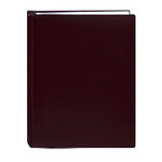 Pioneer - Deluxe EZ Load Memory Book - 8.5 x 11 - 20 Top Loading Pages - Faux Leather - Burgundy