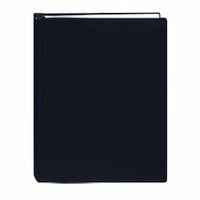 Pioneer - Deluxe EZ Load Memory Book - 8.5 x 11 - 20 Top Loading Pages - Black