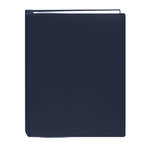 Pioneer - Deluxe EZ Load Memory Book - 8.5x11 - 20 Top Loading Pages - Navy Blue