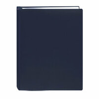 Pioneer - Deluxe EZ Load Memory Book - 8.5 x 11 - 20 Top Loading Pages - Navy Blue