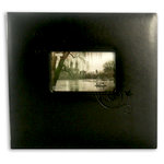 Pioneer - EZ Load Memory Album - 12 x 12 - 20 Top Loading Pages - Embossed Leatherette Frame - Black Floral