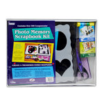 Pioneer - 12 x 12 Photo Memory Scrapbook Kit - Black