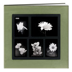 Pioneer - Deluxe EZ Load Memory Book - 12 x 12 - 20 Top Loading Pages - Green