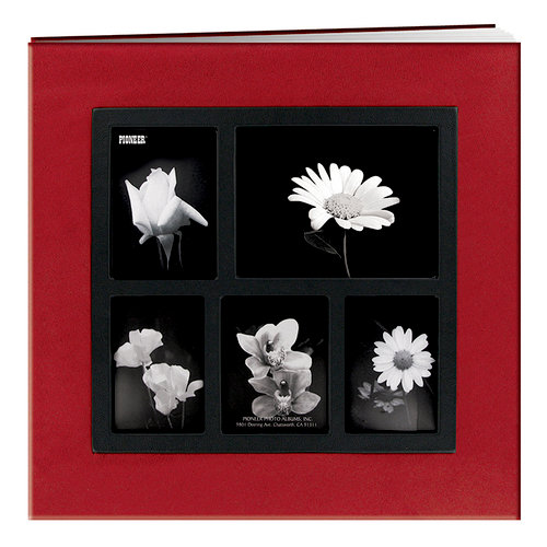 Pioneer - Deluxe EZ Load Memory Book - 12 x 12 - 20 Top Loading Pages - Red