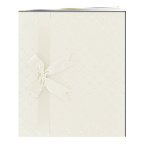 Pioneer - Deluxe EZ Load Memory Book - 8.5 x 11 - 20 Top Loading Pages - Ivory