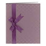 Pioneer - Deluxe EZ Load Memory Book - 8.5 x 11 - 20 Top Loading Pages - Purple