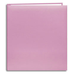 Pioneer - EZ Load Memory Book - 8.5x11 - 20 Top Loading Pages - Soft Pink