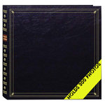 Pioneer - Le Memo Photo Album - 300 4 x 6 Inch Photo Pockets -  Black