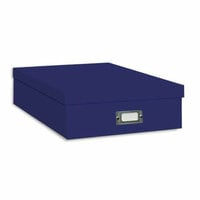 "Pioneer - 12"" x 12"" Scrapbooking Storage Box - Bright Blue"