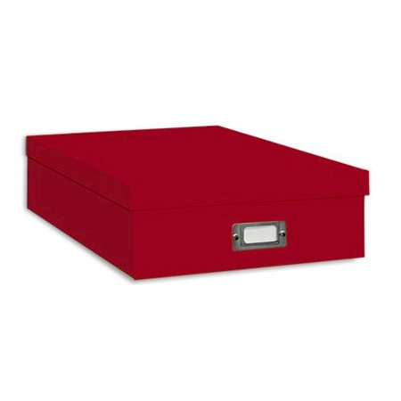 Pioneer 12 X 12 Scrapbooking Storage Box Bright Red
