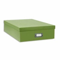 "Pioneer - 12"" x 12"" Scrapbooking Storage Box - Sage Green"