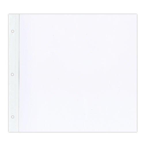 Pioneer 12 x 12 Top Loading Refills - White - 5 Pack