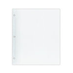 Pioneer - 8.5 x 11 Top Loading Refills - White - 5 Pack