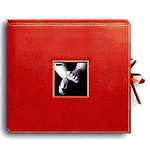 Pioneer - 12x12 Sewn Scrapbook Box - Stitched - Red