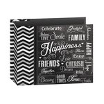 Pioneer - 12 x 12 - 3 Ring Album - Chalkboard Print - Happiness