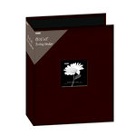Pioneer - 3 Ring Binder - 8.5 x 11 - Cloth Scrapbook - Brown
